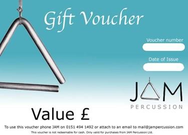 JAM  E-Gift vouchers