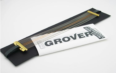 """Grover Silver Wire/Bronze Cable Combo Extended 14"""" snare wire"""