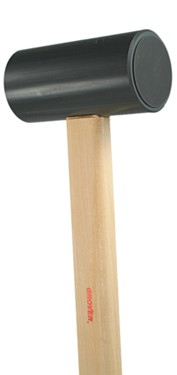 "Grover Lg. Two-Tone Chime Mallet - 1.75"" Head"