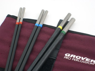 Grover Deluxe Tubular  beater set  (6pc)