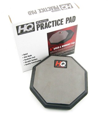 "Real Feel 6"" double-sided Practice pad"