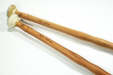 Historical Sticks 'JS Bach' -Goat-skin wrapped timpani sticks (pair)