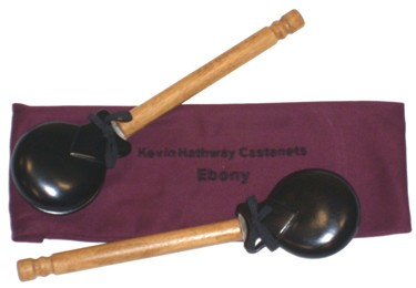 Hathway Castanets (Ebony)