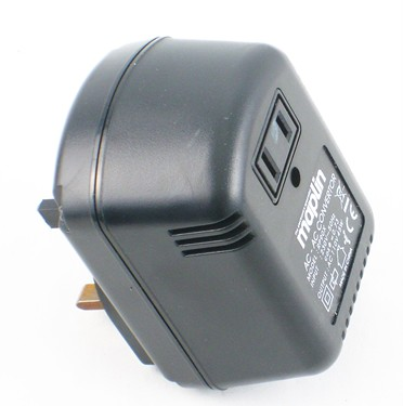Maplin USA-UK transformer for Musser vibe
