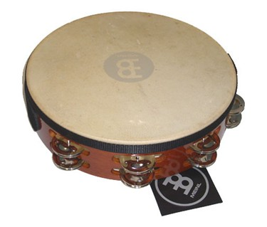 Meinl TAH2AB double jingle tambourine