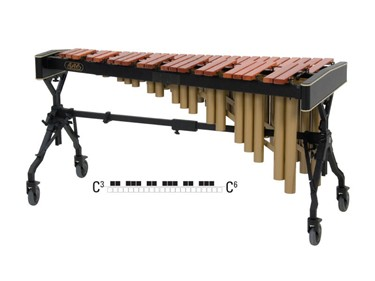 Adams Soloist MSPV40 marimba, 4 oct. C3-C7, padouk 58-40 mm