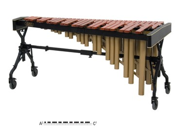 Adams Soloist MSPV43 marimba, 4 1/3 oct. A2-C7, padauk 58-40 mm