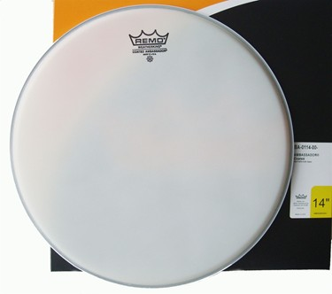 "Remo 14"" Ambassador Coated Tom/ Snare/ Floortom head."