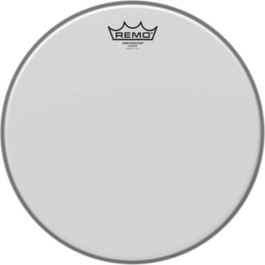 "Remo 13"" AMBASSADOR COATED tom head"