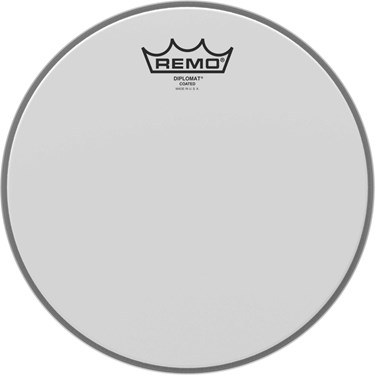 "Remo 14"" DIPLOMAT COATED"