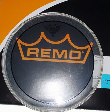 "Remo 14"" Pinstripe Clear Tom/ Snare/ Floortom head."