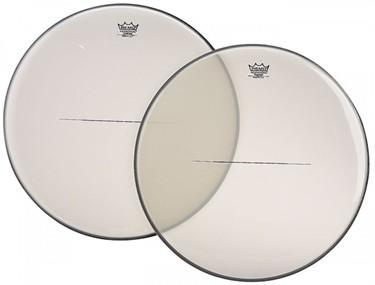 "Remo Custom Hazy timpani heads 22""-35"" (aluminium insert ring)"