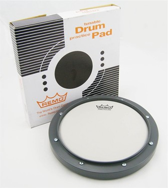 "Remo 8"" tunable Practice pad."