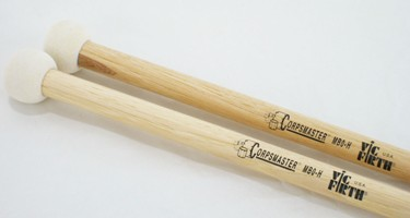 Vic Firth Corpsmaster Bass drum mallets MB0H (pr)