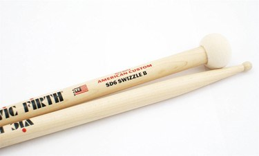 Vic Firth SD6 'Swizzel' B Sticks  Snare/ Timp (pr)
