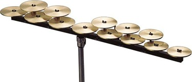 Zildjian CROTALES High octave A440 tuning 13 NOTES W/O BAR