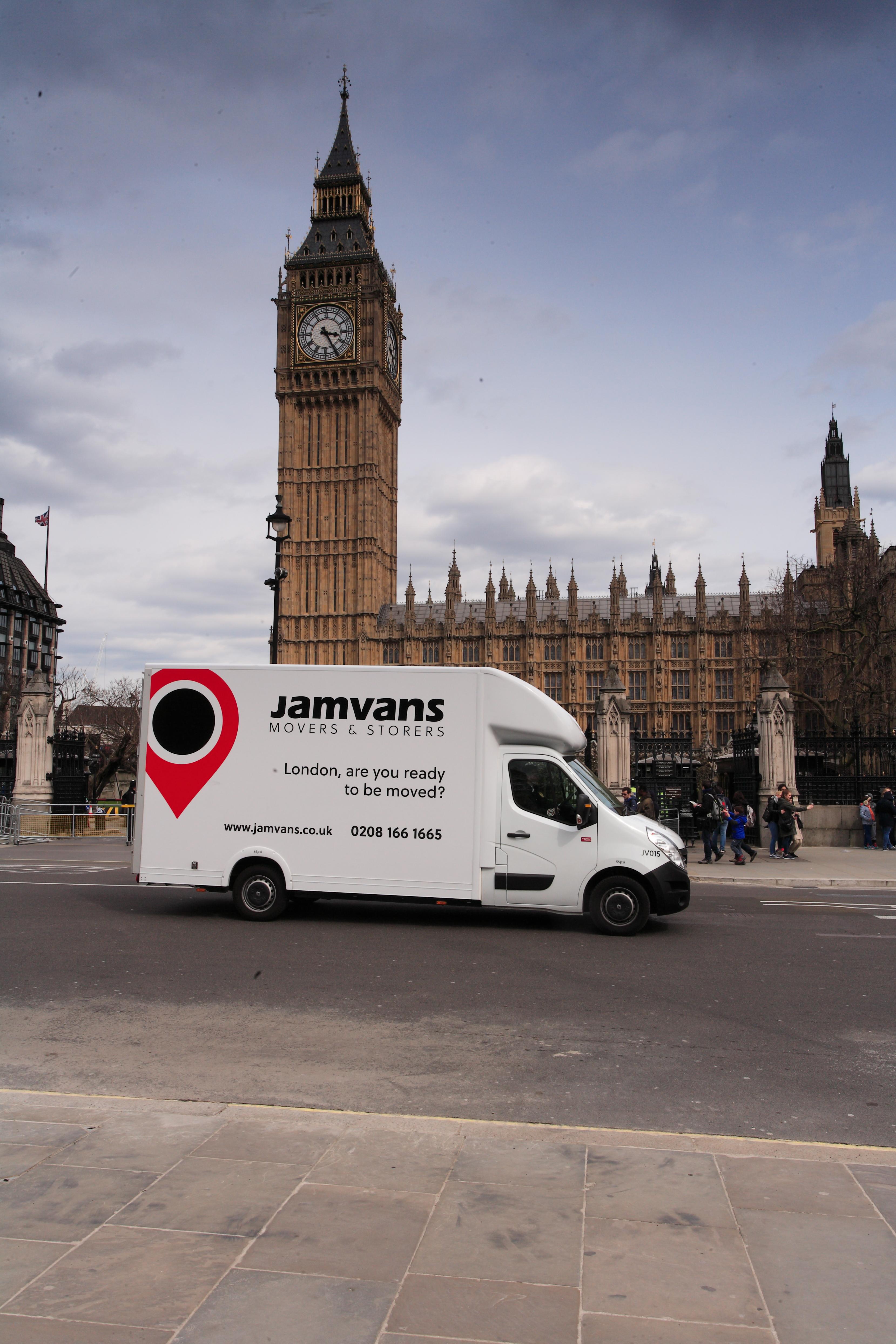 Westminster Removals JamVans