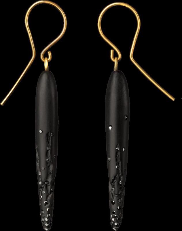 Jet earrings ebay