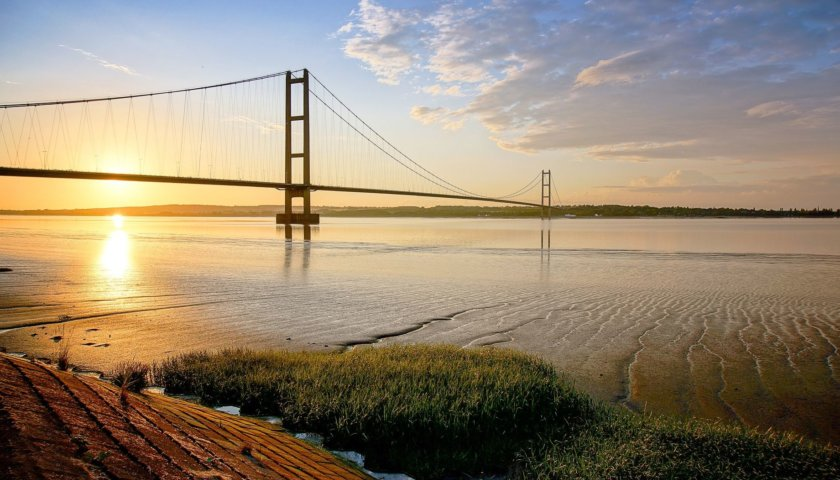 The Humber Bridge In July 2016