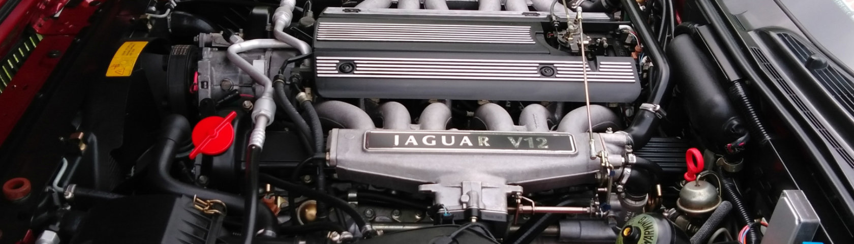 Jaguar Xj40 Xj12 Windsor Engine Bay