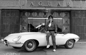 Jaguar E Type Roy Orbison