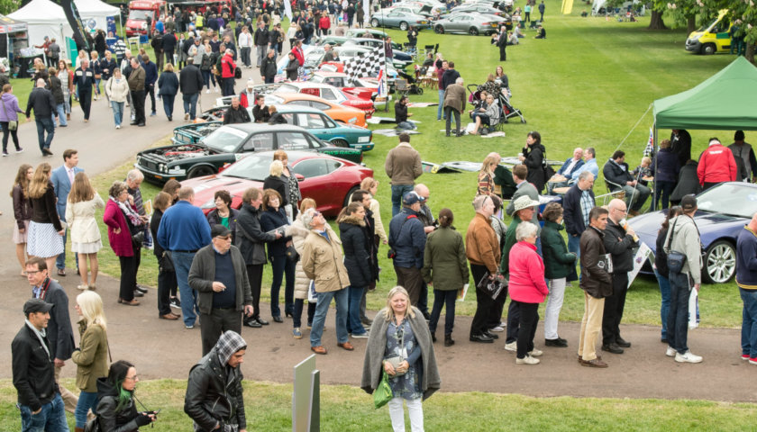 View From The Jaguar Classic Stand Chris Gage