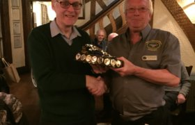 Member Of The Year Presentation From Mike Beirne Left To Keith Ingram