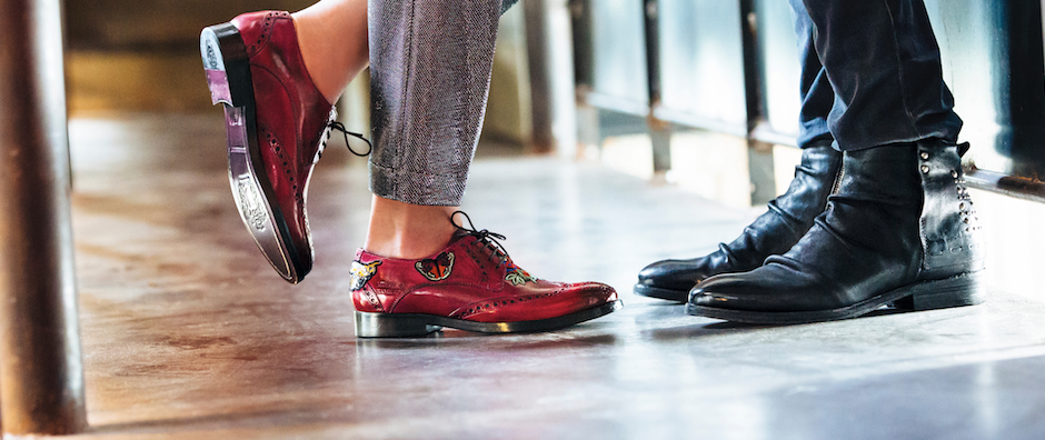 chaussures en cuir pour homme et femme