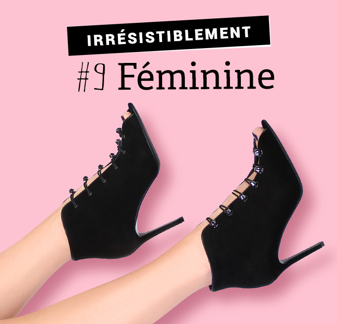 Irrésistiblement féminine : escarpins Giancarlo velours noir