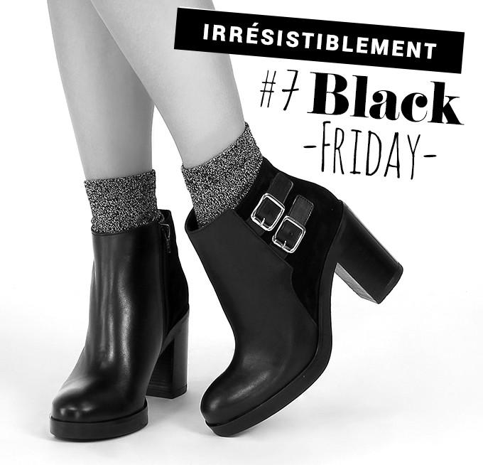 Irrésistiblement balck friday : boots We Do noir velours