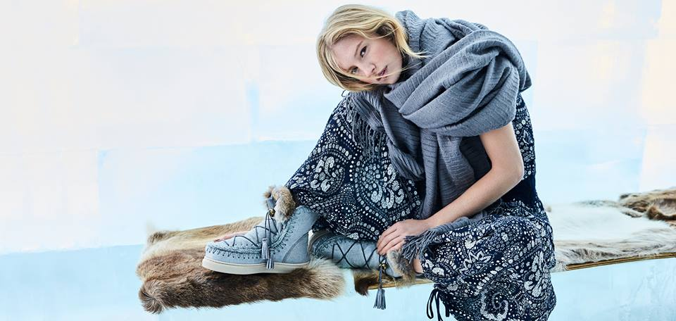 MOU BOOTS : marque anglaise de chaussures et accessoires de luxe et artisanaux.