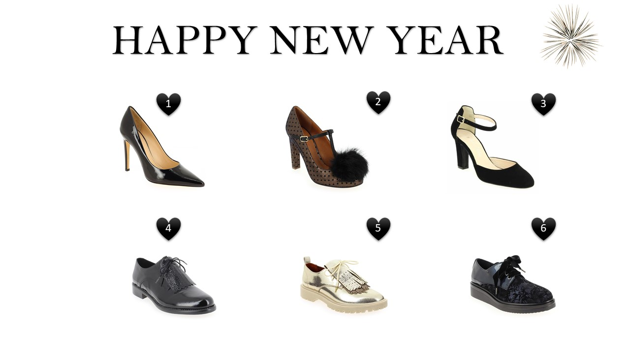 HAPPY NEW YEAR : chaussures de soirée