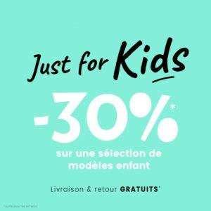 JUST FOR KIDS : opération spéciale enfant