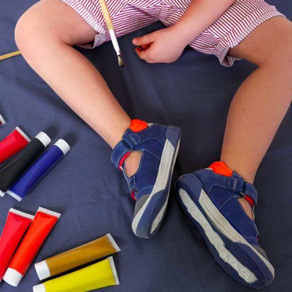 mode enfant : artiste