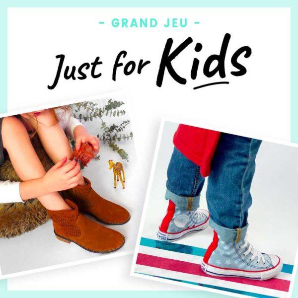 JUST FOR KIDS : jeu concours enfant