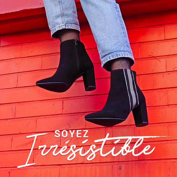 irrésistible : -30% sur une sélection de chaussures femme et homme automne-hiver 2018