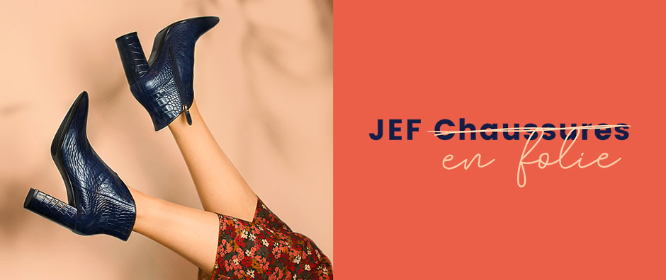 Les JEF ̶c̶h̶a̶u̶s̶s̶u̶r̶e̶s̶ en Folie ♡