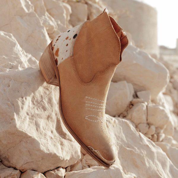 Chaussures western : boots en cuir Little La Suite