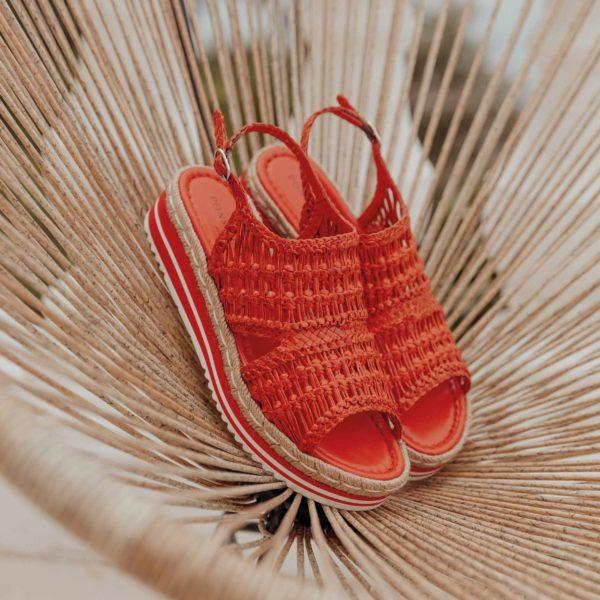 chaussures tressées Pons Quintana