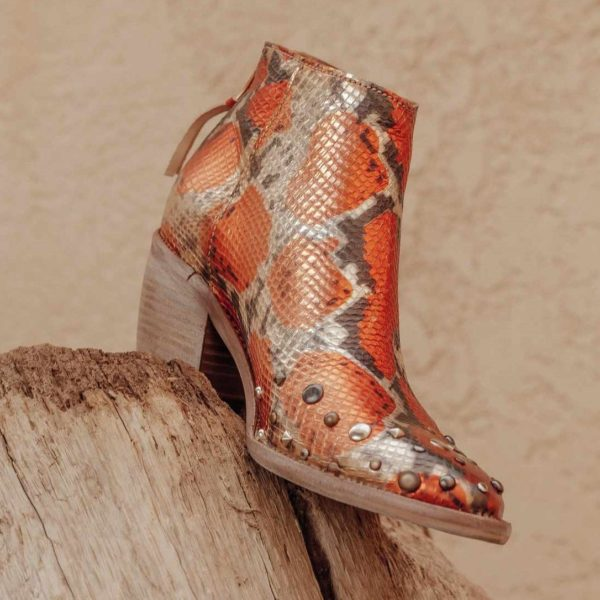 Chaussures imprimé python Little La Suite