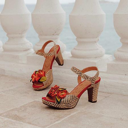 Cérémonie : sandales en cuir Chie Mihara