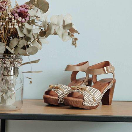 Cérémonie : sandales ultra confortables Nemonic