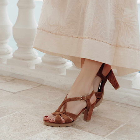 Cérémonie : sandales Mamzelle