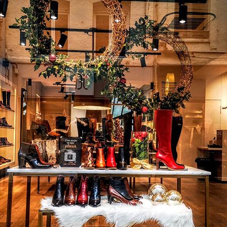 Noël dans les boutiques JEF Chaussures