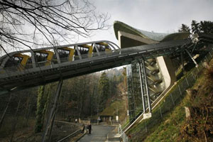Architect Zaha Hadid - Innsbruck - Nordpark Cable Railway 04