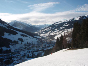 View to Saalbach