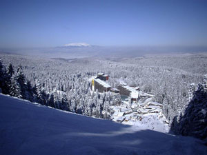 Borovets in timpul iernii