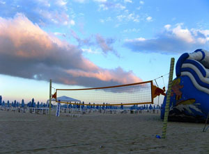 Beach Volley of Sunny Beach