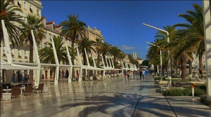Croatia - Promenada in Split