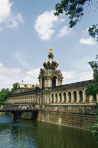 Germania - Crown Gate la Zwinger Palace, Dresden